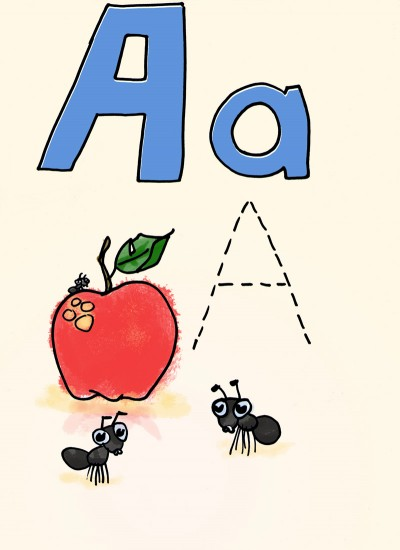 A is for Apple and Ant