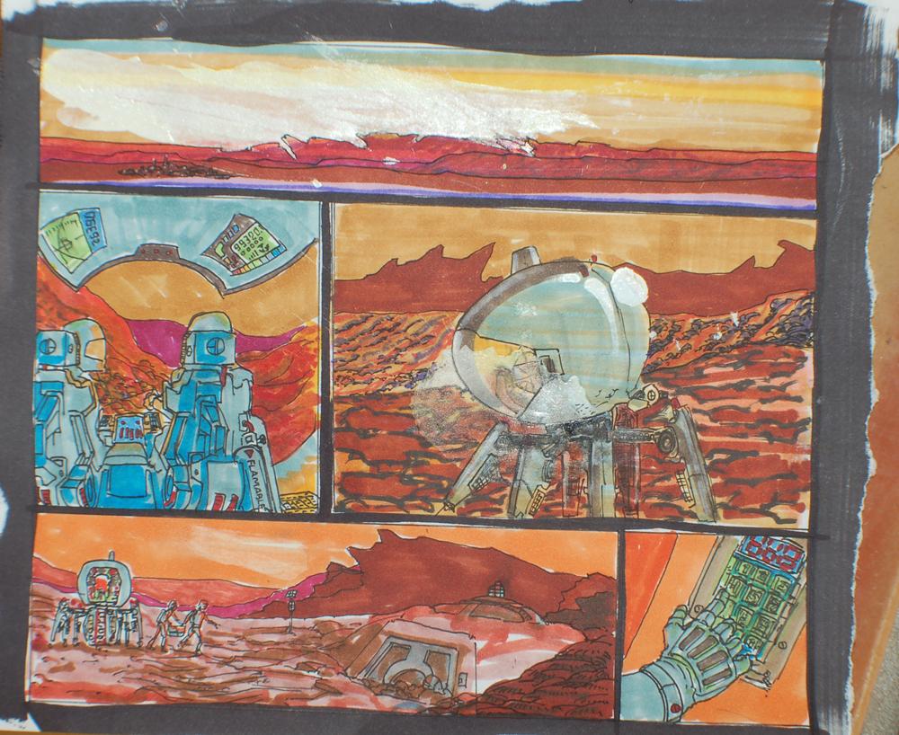 Mars Revolt concept art