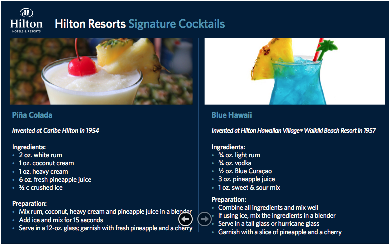 Hilton Event Assets